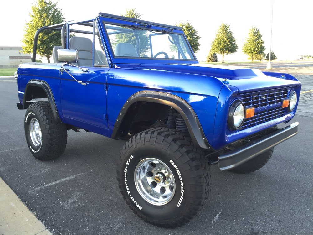 2017 Ford Bronco >> 1970 Ford Bronco | Maxlider Brothers Customs