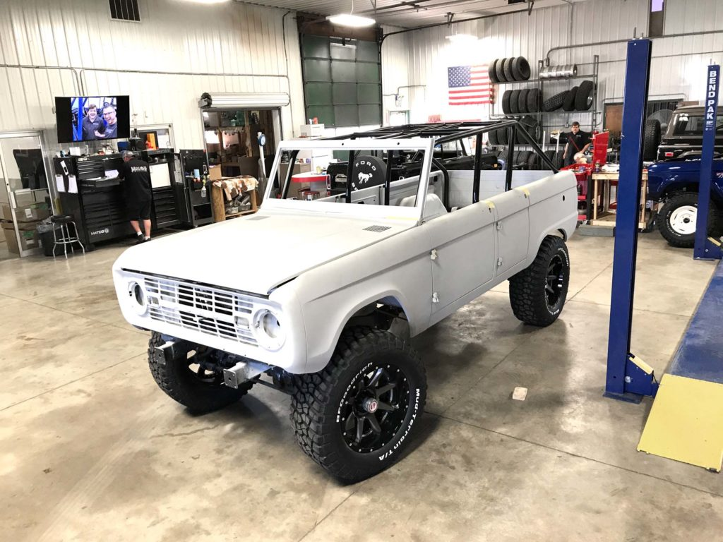 To Our Knowledge Under A Dozen Have Ever Been Created By Enthusiasts And Shops In 2016 We Began Creating The 4 Horseman Own Door Ford Bronco