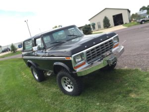 1979 Ford Bronco Black