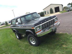 1979 Ford Bronco Black