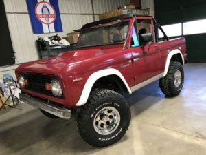 1969 Ford Bronco Red