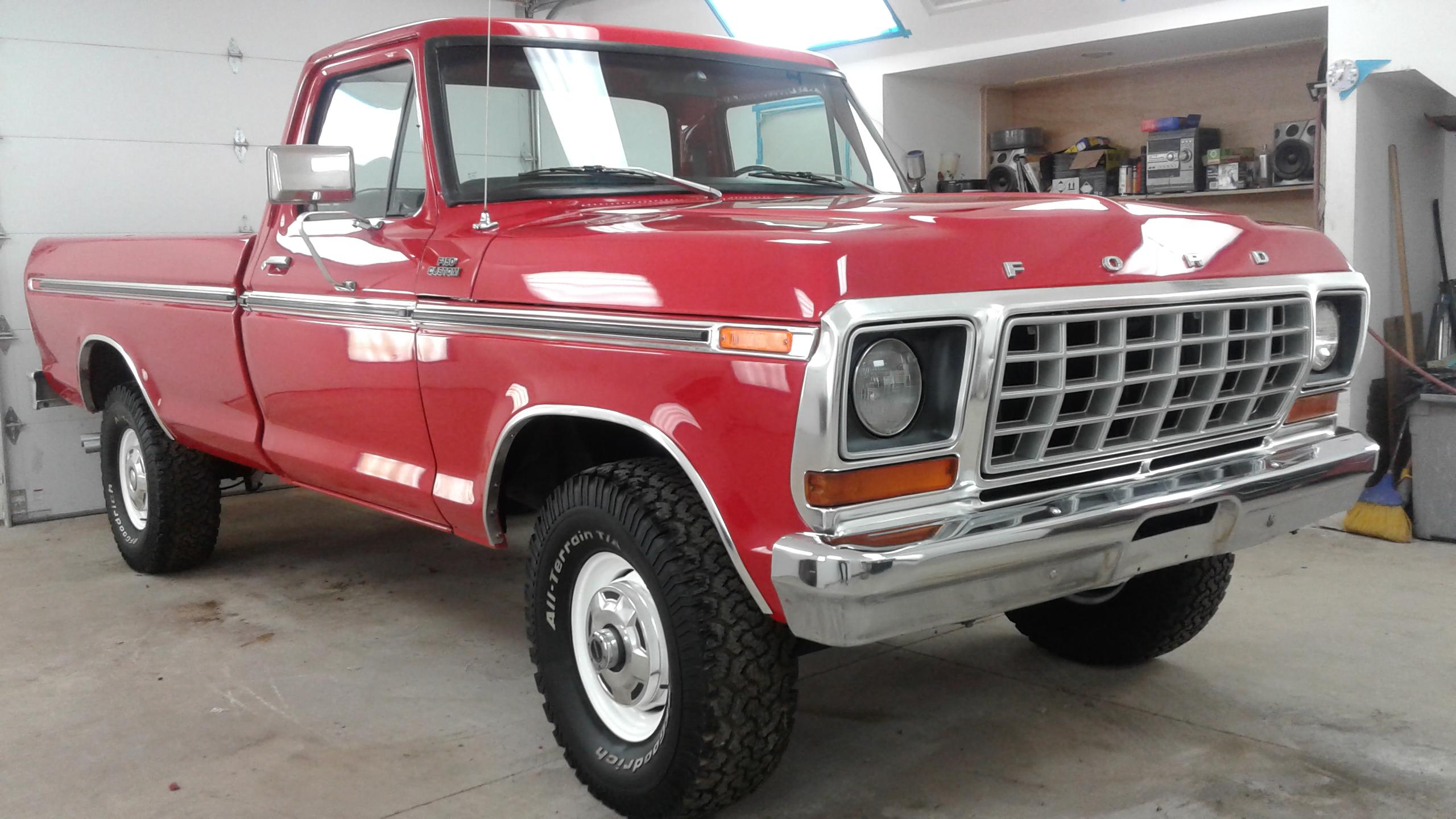 1978 Ford F 150 4x4 Maxlider Brothers Customs