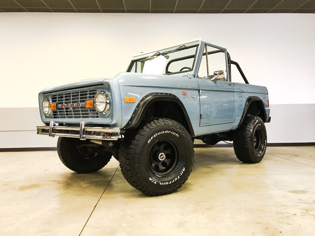 Ford Bronco Brittany Blue
