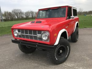 1974 Ford Bronco Red 351W