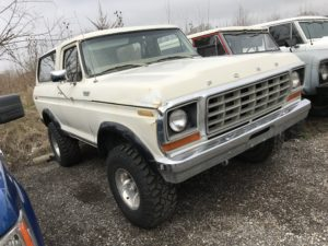 1978 Ford Bronco Ranger White