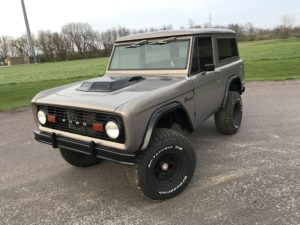 1977 Ford Bronco Grey Tan