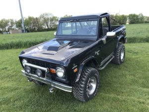 1969 Ford Bronco Charcoal Grey