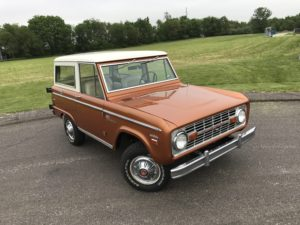 1969 Ford Bronco Sport Uncut Hot Ginger Metallic