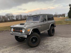 1974 Ford Bronco Dark Silver