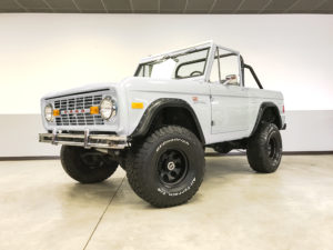 1977 Ford Bronco White Frame Off Restoration