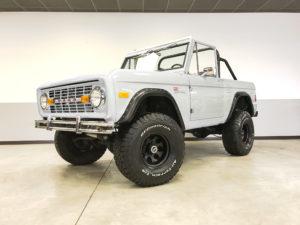 1977 Ford Bronco White Frame Off Restoration