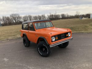 1969 Ford Bronco Orange 351W