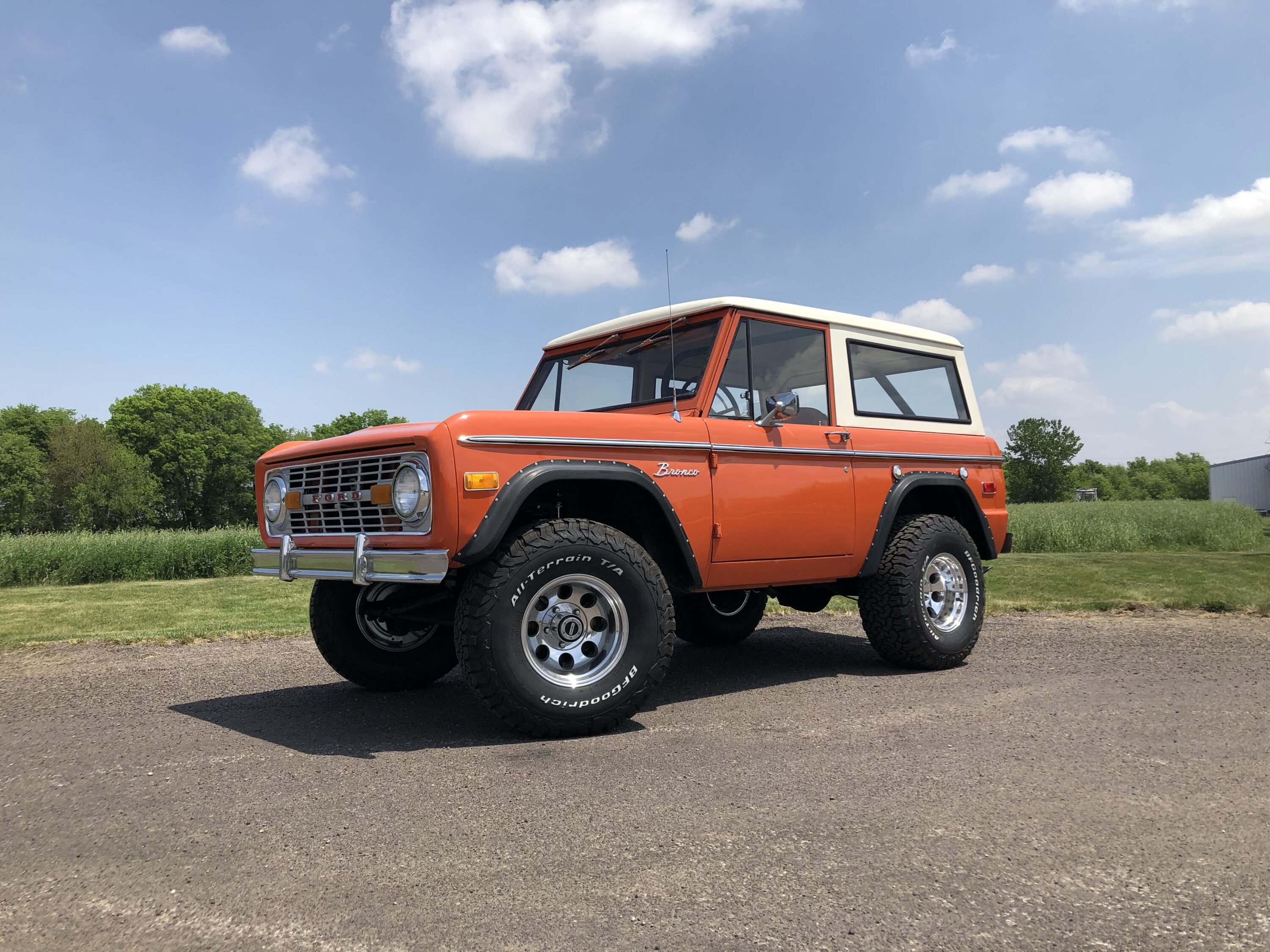 1973 Ford Bronco Explorer