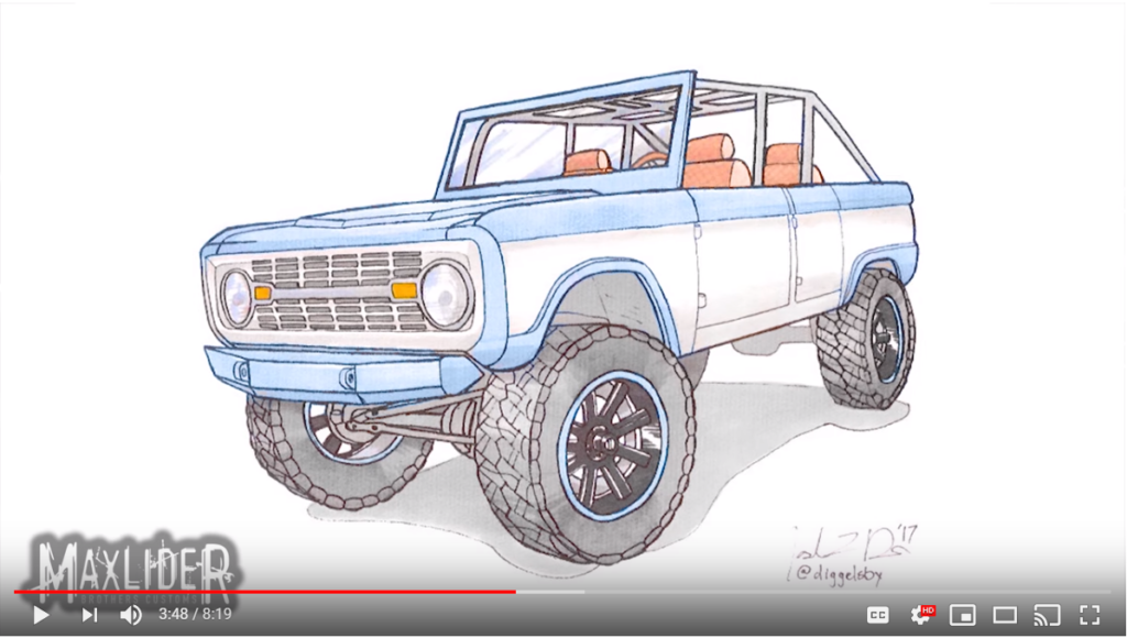4 Door Ford Bronco Road To Sema Mini Episodes Maxlider Brothers Customs