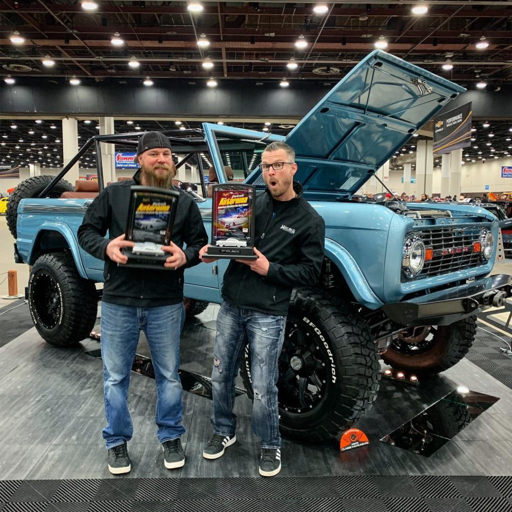 Two Awards for Custom Ford Bronco Builds at Detroit Autorama World of Wheels