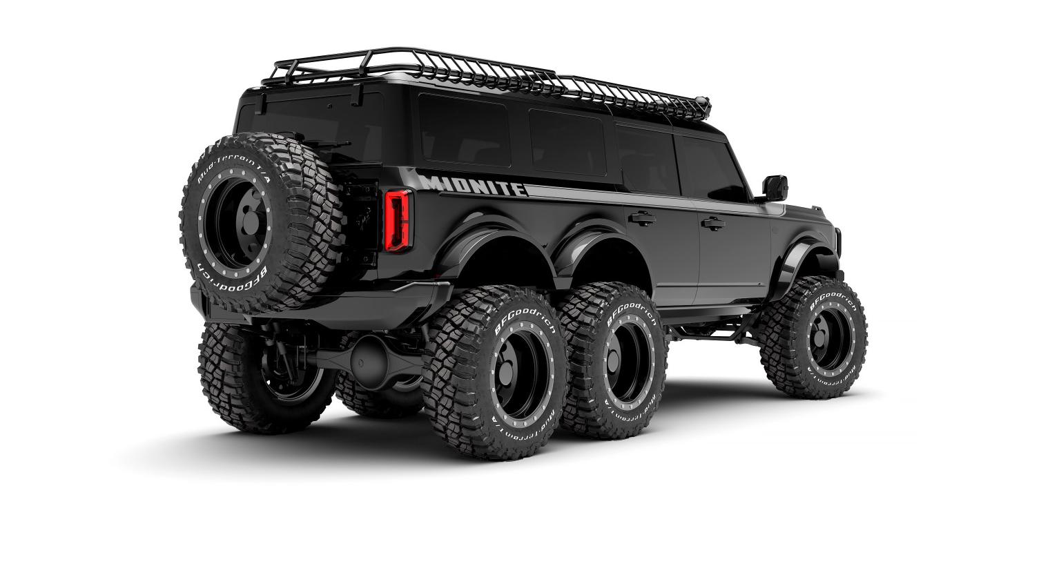 2021 Ford Bronco 6x6 MIDNITE Edition